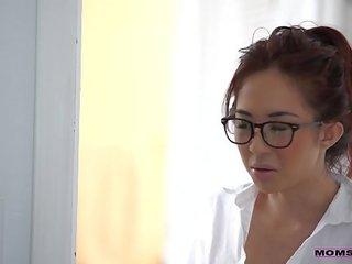 Mom teachs sex movie stepson Seduced tutor Mila Jade and Nina Elle